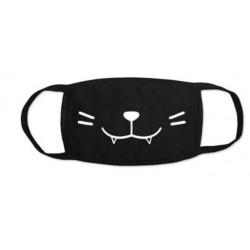 Masque noir chat