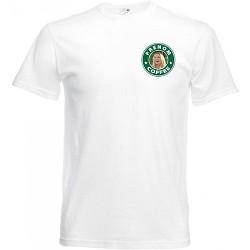 T-shirt blanc + prénom -...