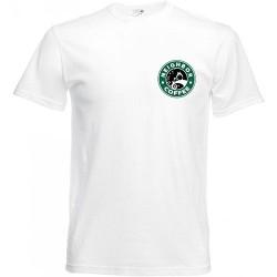T-shirt blanc neighbor -...