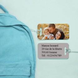 étiquette de bagage - sac à...