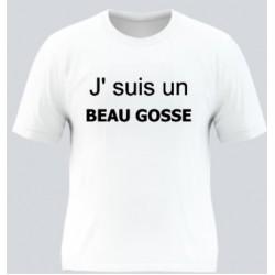 T-shirt blanc j' suis un...