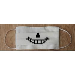 Masque geek tissu lavable...