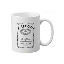 Mug L'alcool tue tous les jour