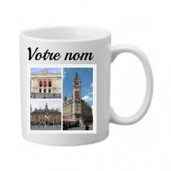 Mug LILLE personnalisable...