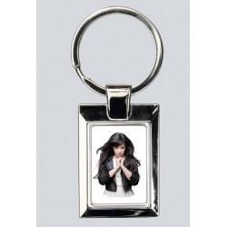 Porte clés rectangle en...