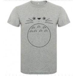 T-shirt coton en gris -...