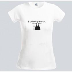 T-shirt femme blanc...