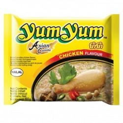 Soupe de nouilles au poulet...