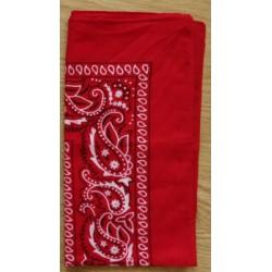 Bandana classique - rouge