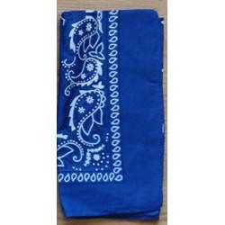 Bandana classique - bleu royal