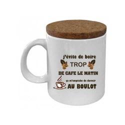Mug avec couvercle -...