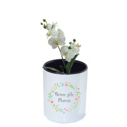 Pots à fleur - personnalisable