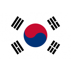Drapeaux Corée du sud