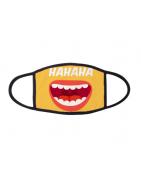 Masque personnalisé avec votre photo texte ou logo